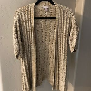 NWOT Chico's Short Sleeve sweater